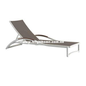 Low Price Outdoor Sun Lounger in Textilene pictures & photos