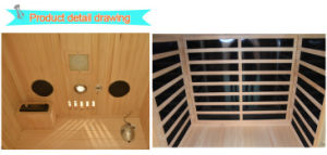 2016 Far Infrared Sauna for 2 Person-H2 pictures & photos