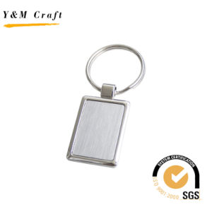 Blank Metal Custom Zinc Alloy Souvenir Keychain with ISO SGS pictures & photos