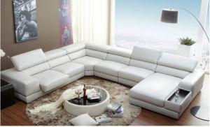 2016 Hot Sale U Shape Leather Sofa for Livingroom Use (SF057)
