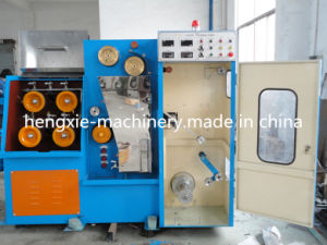 Hxe-24dt Copper Fine Wire Drawing Machine with Annealer pictures & photos