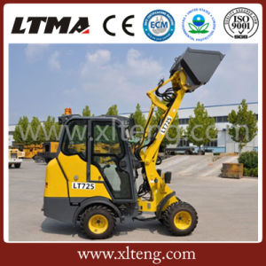 Ltma 0.8 Ton Small Wheel Loader with Small Bucket pictures & photos