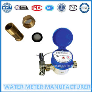 Impulse Transfer Single-Jet Dry Type Water Meter of Dn15mm pictures & photos
