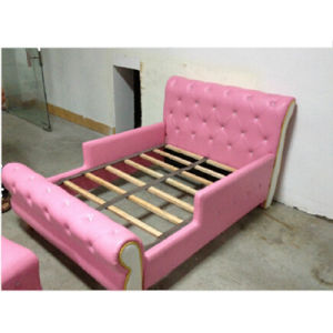 Bedroom Furniture/Children Furniture/Leather Living Room Kids Bed (BF-100) pictures & photos