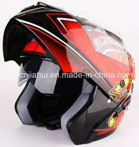 DOT Approvedl Double Visor Flip up Sytle Motorcycle Helmet