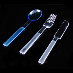 Tableware Plastic Fork 18cm Fork Disposable Products pictures & photos