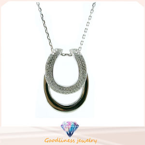 Special Design and Factory Direct Fashion Jewelry 2015 New Cubic Zirconia Women Necklaces (N6623) pictures & photos