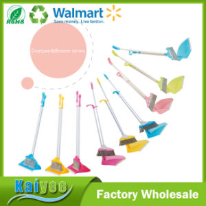 Wholesale Custom Plastic Advanced Brush Wire Broom and Dustpan pictures & photos