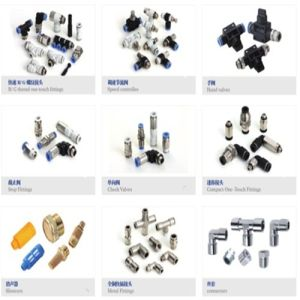 PC Male Straight Compact Mini One-Touch Tube Fittings pictures & photos