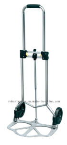 Foldable Chrome-Plated Steel Hand Trolley (HT022MGS) pictures & photos
