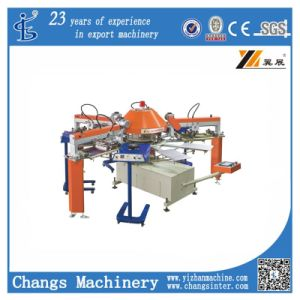 The New Spg T-Shirt/Garment/PVC Plate Small Screen Printing Machine pictures & photos