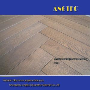 Herringbone Oak Engineered Wood Flooring pictures & photos