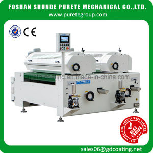 Automatic Double Roller Coater with Laser Roller for Furniture, Wood