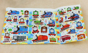 Colorful Caroon Printing Adhesive Sticker Sheet (ST-016) pictures & photos