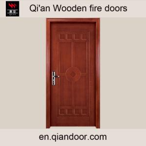 Fraxinus Mandshurica Rupr Timber Fire Door pictures & photos