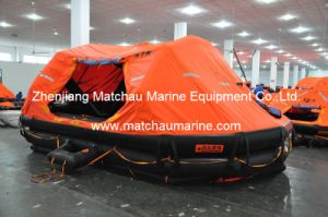 Davit Launched Solas Approved Self Righting Inflatable Liferaft pictures & photos