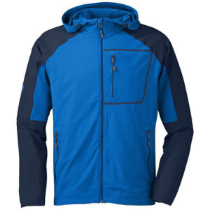 Outdoor Blue Mens Softshell Jacket Hoody pictures & photos
