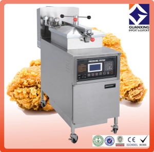 Pfg-600L Commercial Free Standing Gas Chicken Deep Fryer Ce ISO Chinese Manufacturer pictures & photos