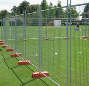 Heavy Duty Galvanized Temporary Fencing for Construction Site, Event pictures & photos