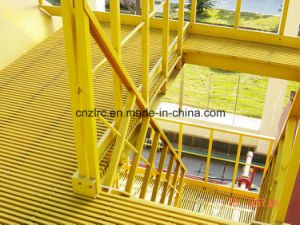UV Resistant Fiberglass Floor Grating, Platform Walkway FRP Grating, High Strength pictures & photos