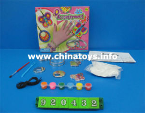 DIY Girl Drawing Bracelet Plastic Accessories Toy (920432) pictures & photos