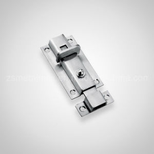 Stainless Steel Wholesale Spring Push Button Automatic Door Bolt (CX009) pictures & photos