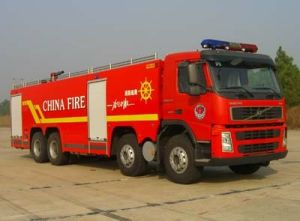 Professional Supply Volvo Fire Truck Foam Water Fire Fight Truck of 20m3 Tank pictures & photos