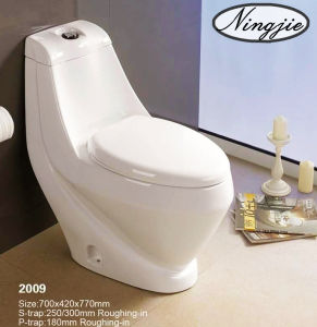 Factory Outlet Sanitary Ware Ceramic Toilet (2009) pictures & photos