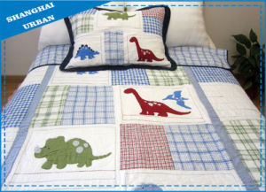 2 PCS Cotton Bedding Embroidery Baby (Kids) Quilt pictures & photos