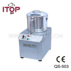 with CE Automatic Electric Food Cutter Machine (QS-503, QS-505, QS-508) pictures & photos
