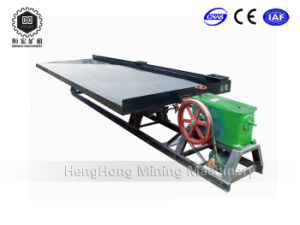 Alluvial Gold Separation Vibrating/ Shaking Table Mining Machine pictures & photos