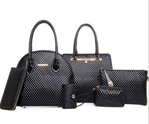 Fashionable PU Leather Bag 6PCS Set Handbag Fashion Designer Handbag (XM0251) pictures & photos