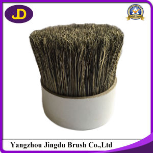 Natural Grey Color Soft Boiled Pig Hair Bristle pictures & photos