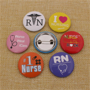 Customize Promotional Metal Souvenir Crafts Pin Tin Button Badge pictures & photos