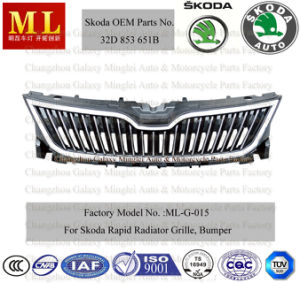 Car Grille for Skoda Rapid From 2012 (32D 953 651B) pictures & photos