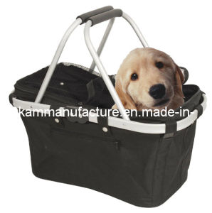 Foldable Pet Carry Basket Collapsible Dog Carry Basket pictures & photos