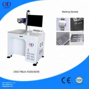 20W Fiber MOPA Laser Deep Engraving Machine to Engrave on Metal Color pictures & photos