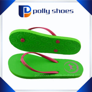Promotional Hot Selling Girls EVA Beach Slippers pictures & photos