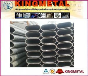 Q195 Oval Steel Pipe pictures & photos