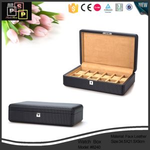 High Quality Wholesale PU Gift Package Watch Box (6729) pictures & photos