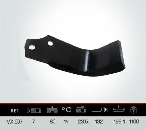 L Type Blade, Rotavator Blade, Tiller Blade pictures & photos