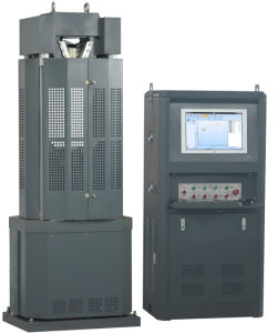 Waw-300b Universal Testing Machine with PC&Servo Control pictures & photos