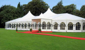 OEM PVC Coated Tarpaulin Wedding Tent (1000dx1000d 20X20 650g) pictures & photos