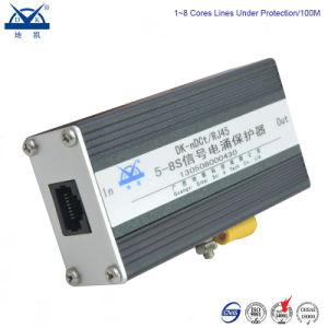 Aluminum Alloy Ethernet Network Gigabit 1000m RJ45 Surge Arrester pictures & photos