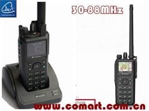 Digital P25 Trunking& Dmr AES-256 Encryption Tactical Low Band Radio, for Soldier/Army/Police pictures & photos