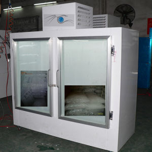 Ice Storage Bin with Double Glass Doors pictures & photos