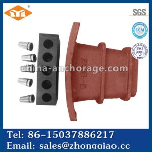 China Post Tensioning Curved Flat Anchorage For Bridge