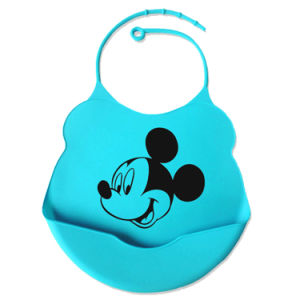 Custom Brand FDA Food Grade Silicone Baby Bib pictures & photos