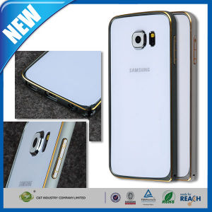 Ultra-Thin Aluminum Metal Bumper Frame Cover for Samsung S6 pictures & photos