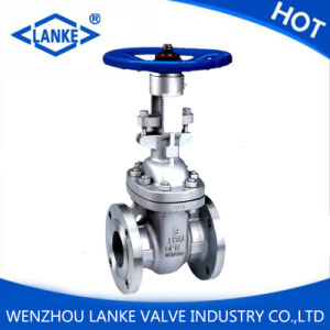 API Stainless Steel CF8/CF8m Flange Gate Valve pictures & photos